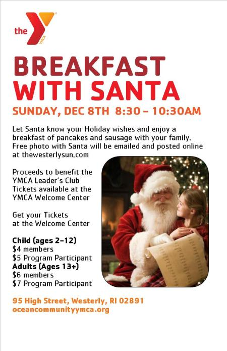 5 x 7 breakfast with santa